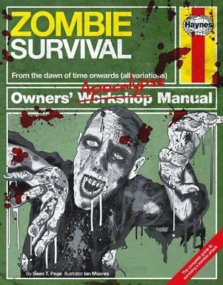Zombie Survival Manual by Sean T. Page New Hardback Book
