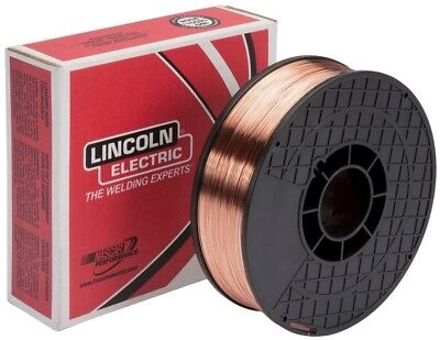 Lincoln Electric .035 in. SuperArc L-56 ER70S-6 MIG Welding Wire for Mild Steel
