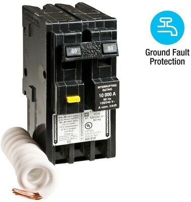 on 50 amp electrical panel