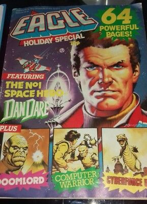 Eagle Holiday Special Comic 1980's Good Condition