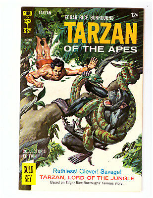 TARZAN OF THE APES #176 in NM- condition 1968 Silver Age Gold Key comic