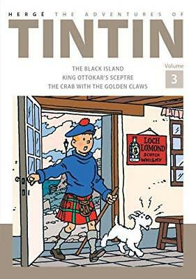 Adventures of Tintin Volume 3 by Herge New Hardback Book