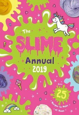 Slime Annual 2019 by Scholastic New Hardback Book