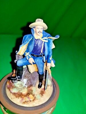 John Wayne The Franklin Mint Limited Edition Hand Painted Sculpture