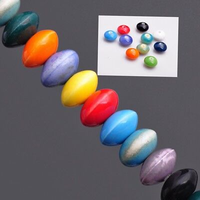 Wholesale 12x7mm Oblate Saucer Abacus Ceramic Mixed Color Loose Spacer Beads