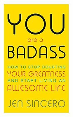 You Are a Badass by Jen Sincero New Paperback Book