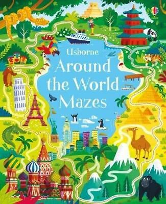 Around the World Mazes by Sam Smith New Paperback Book