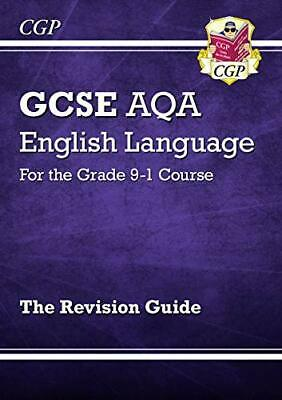 GCSE English Language AQA Revision Guide - for t by CGP Books New Paperback Book