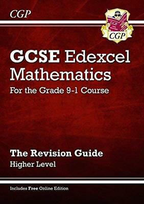 GCSE Maths Edexcel Revision Guide: Higher - for  by CGP Books New Paperback Book