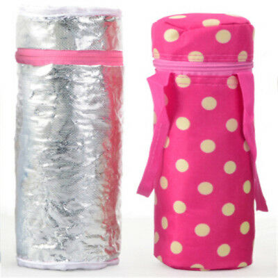 Outdoor Insulated Thermal Cooler Baby Milk Bottle Carry Storage Picnic Bag G