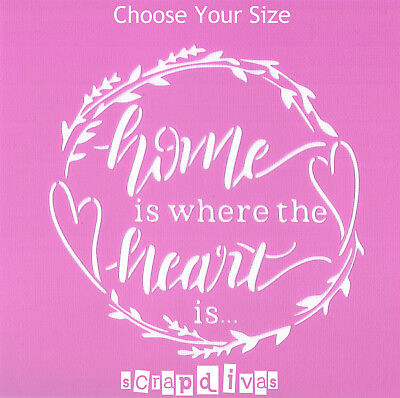 Scrapbooking - STENCILS TEMPLATES MASK SHEET - Home Quote Design 760