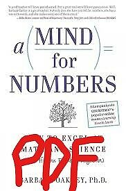 A Mind for Numbers: How to Excel at Math and Science ( E Book)