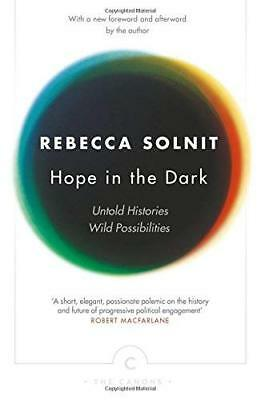Hope In The Dark by Rebecca Solnit New Paperback Book