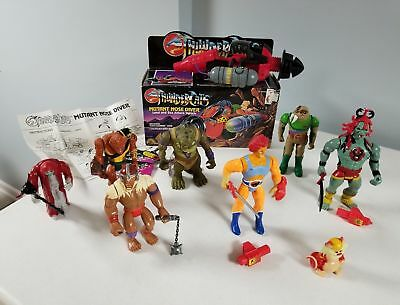 Huge Complete Thundercats Lot! Rare Variants Mail Aways & Accessories LJN 1985