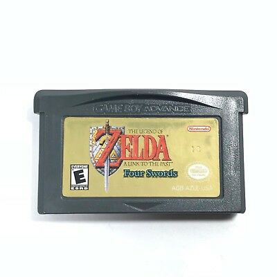 The Legend Of Zelda A Link to The Past Four Sword Nintendo Game Boy Advance