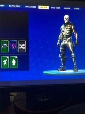Free Fortnite Account Rare Galaxy Skin Skull Trooper Ghoul