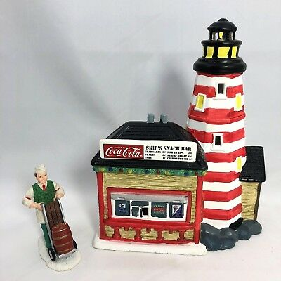Coca-Cola Town Square Collection ~ Light House Point Snack Bar ~ Soda Jerk