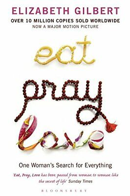 Eat  Pray  Love by Elizabeth Gilbert New Paperback Book