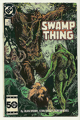 Swamp Thing 1986 #47 Fine/Very Fine Alan Moore