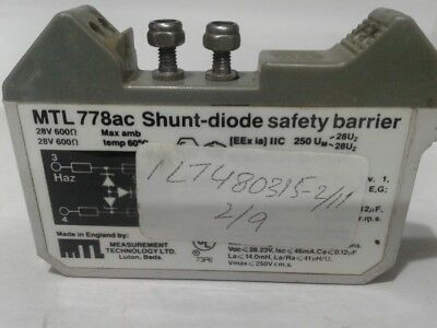 PROTECTED SAFETY BARRIER                       Loc MTL INSTRUMENTS MTL7706 DHG