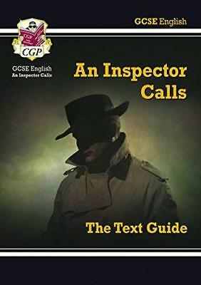 Grade 9-1 GCSE English Text Guide - An Inspector by CGP Books New Paperback Book