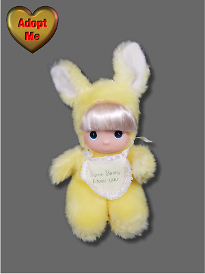 Samuel Butcher Precious Moments Yellow Some Bunny Loves You Plush Baby Girl Doll