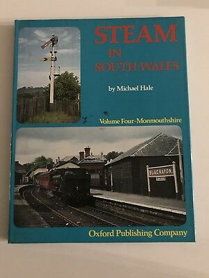 Steam In South Wales Volume 4 Monmouthshire - Michael Hale - GWR BR - Book