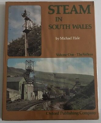 Steam In South Wales Volume 1 The Valleys -Michael Hale - GWR BR Hardcover Book
