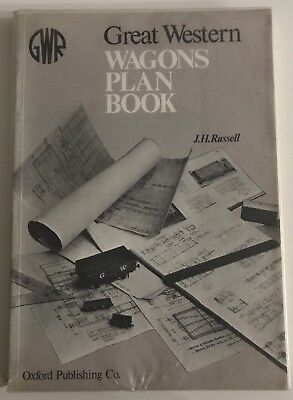 Great Western Wagons Plan Book - J.H. Russell GWR Hardcover Book