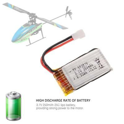 3.7V 250mAh Lipo Battery for WLtoys V911S 4CH Non-aileron RC Helicopter G5S0