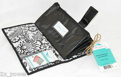 Cute Black and White Envelope System Wallet Cash Budgeting Dave Ramsey Budget