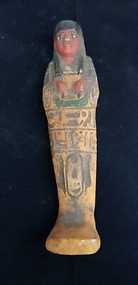 RARE ANCIENT EGYPTIAN ANTIQUE USHABTI (SHABTI) Artifact Statue Egypt BC