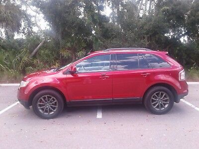 2007 Ford Edge Limited 2007 FORD EDGE SEL LIMITED VERSION AWD , V6, LOADED NICE METALLIC RED