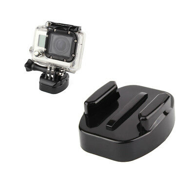 Quick Release Tripod Mount Adapter for GoPro Hero 5 4 3+ Action Camera Black