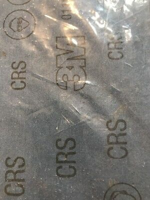 """25 SHEETS 3M 011K EMERY CLOTH COURSE GRIT 9""""x11"""" NEW 9148A AUTO BODY ROTORS"""