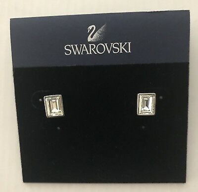 348f0ad9f703f AUTHENTIC SWAROVSKI ENLACE Pierced Earrings - $79.20 | PicClick