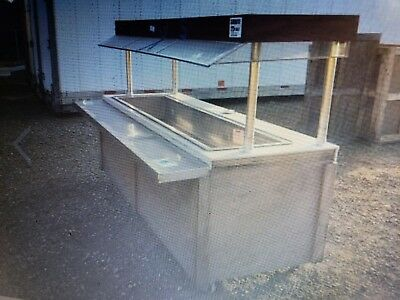 Buffet Table cold with Top Atlas, buffet table, food prep cold Salad Bar Buffet