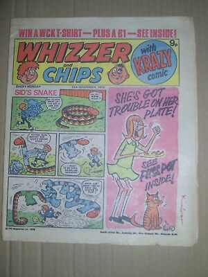 Whizzer and Chips issue dated November 11 1978
