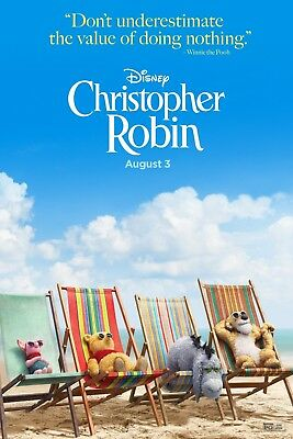 Christopher Robin Movie Poster Picture Art Print  Art A4 A3 A2 -379