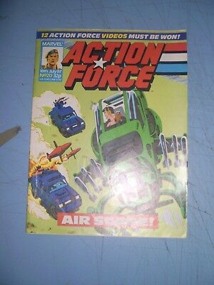 Action Force issue 20 Marvel UK 1987