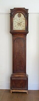 Good Quality Mahogany 8-Day Longcase Grandfather Clock for Restoration, c1785.