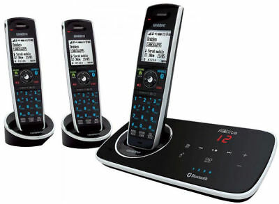 Uniden Elite 9135+2 3 Handset Cordless Telephone And Answer Machine