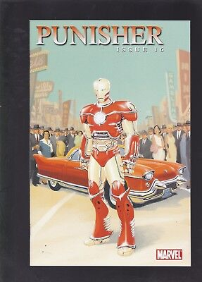 Punisher #16 HTF 1:15 Iron Man By Design Variant Cover by Dave Taylor!