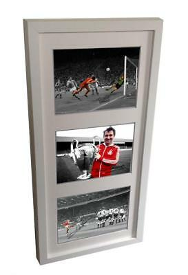 Signed BRIAN CLOUGH YEARS Stuart Pearce Francis Nottingham Forest Photo Picture