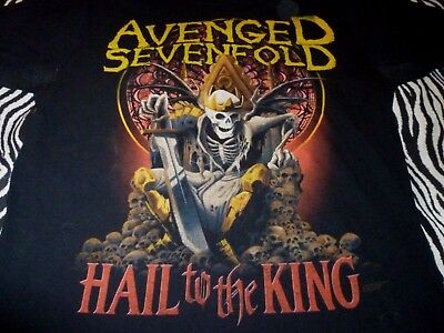 Avenged Sevenfold Shirt ( Used Size L ) Very Good Condition!!!