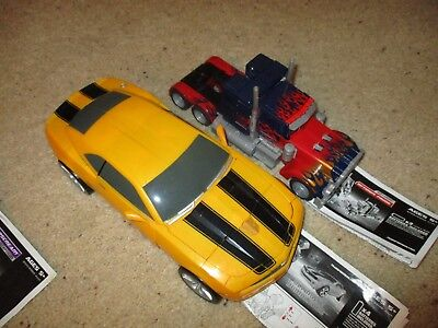 Transformers Lot: Movie Ultimate Bumblebee, MP-10, Blackout, Optimus Prime