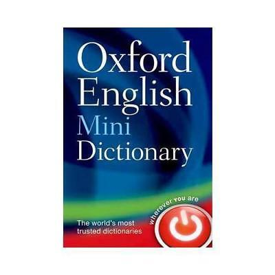 Oxford English Mini Dictionary by Oxford Dictionaries New Paperback Book
