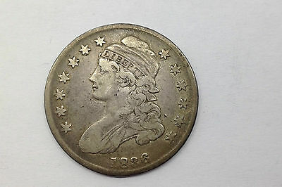 1836 Capped Bust Half Circulated...nice Coin