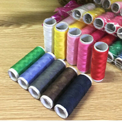 10Pcs 100 Yard Practical Sewing Threads Domestic Sewing Part Handicraft Thread