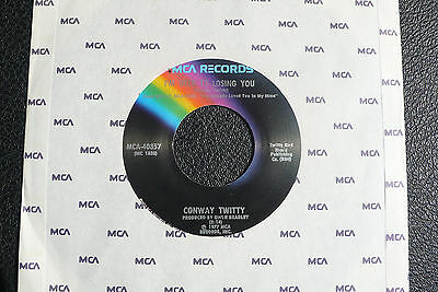 "7"" Conway Twitty - I'm Used To Losing You - US MCA"